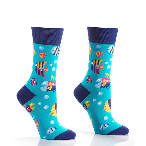 Under the Sea: Women's Crew Socks