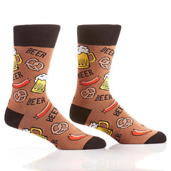 The Wurst: Men's Crew Socks - Yo Sox Canada