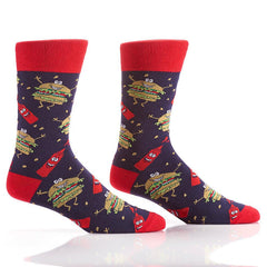 Hamburglers: Men's Crew Socks