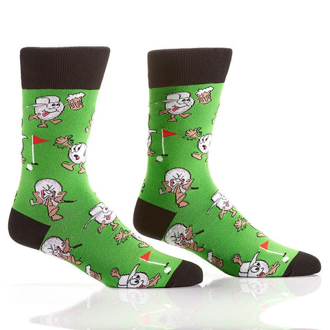 Putt & Pint: Men's Crew Socks - Yo Sox Canada