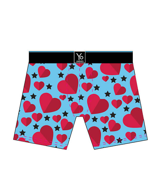 Feel The Love: Men's Trunk Style Briefs