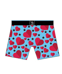 Feel The Love: Men's Trunk Style Briefs - Yo Sox Canada