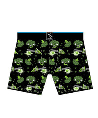 Bad Ass Broccoli: Men's Trunk Style Briefs - Yo Sox Canada
