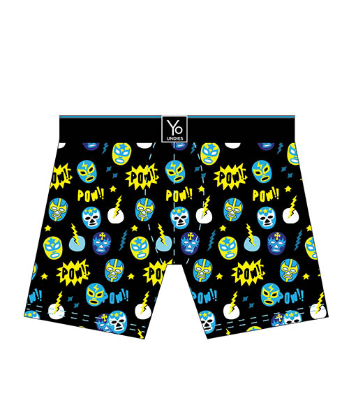 Nacho Libre: Men's Trunk Style Briefs - Yo Sox Canada