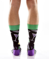Dirty Martini: Men's Crew Socks - Yo Sox Canada