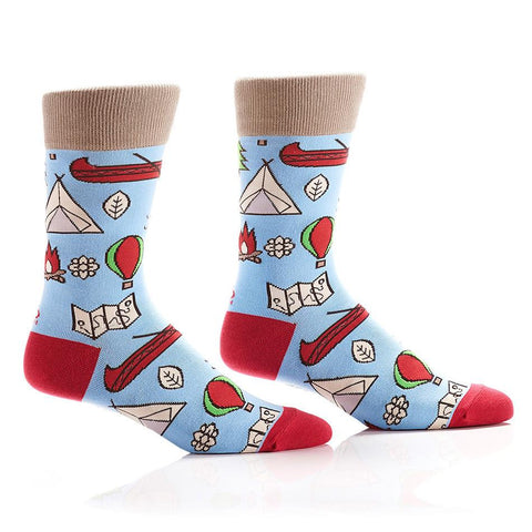 Out of the Wild: Men's Crew Socks - Yo Sox Canada