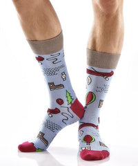 Out of the Wild Men's Crew Socks , Socks - Yo Sox, Canada Yo Sox  - 3