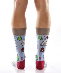 Out of the Wild Men's Crew Socks , Socks - Yo Sox, Canada Yo Sox  - 4