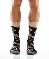 On Guard: Men's Crew Socks - Yo Sox Canada