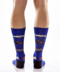 Hot Wheels Men's Crew Socks - Yo Sox Canada