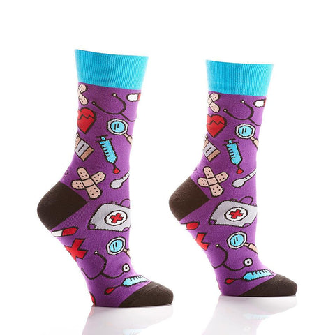 Doctors Orders: Women's Crew Socks - Yo Sox Canada
