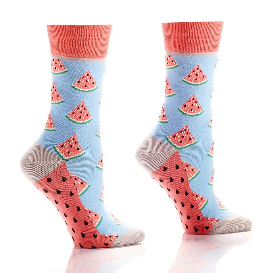 Summers Treat: Women's Crew Socks - Yo Sox Canada
