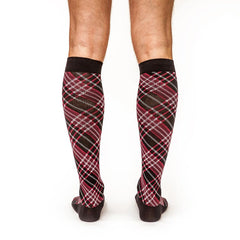 Criss-Cross: Men's Knee-High Compression Socks - Yo Sox Canada