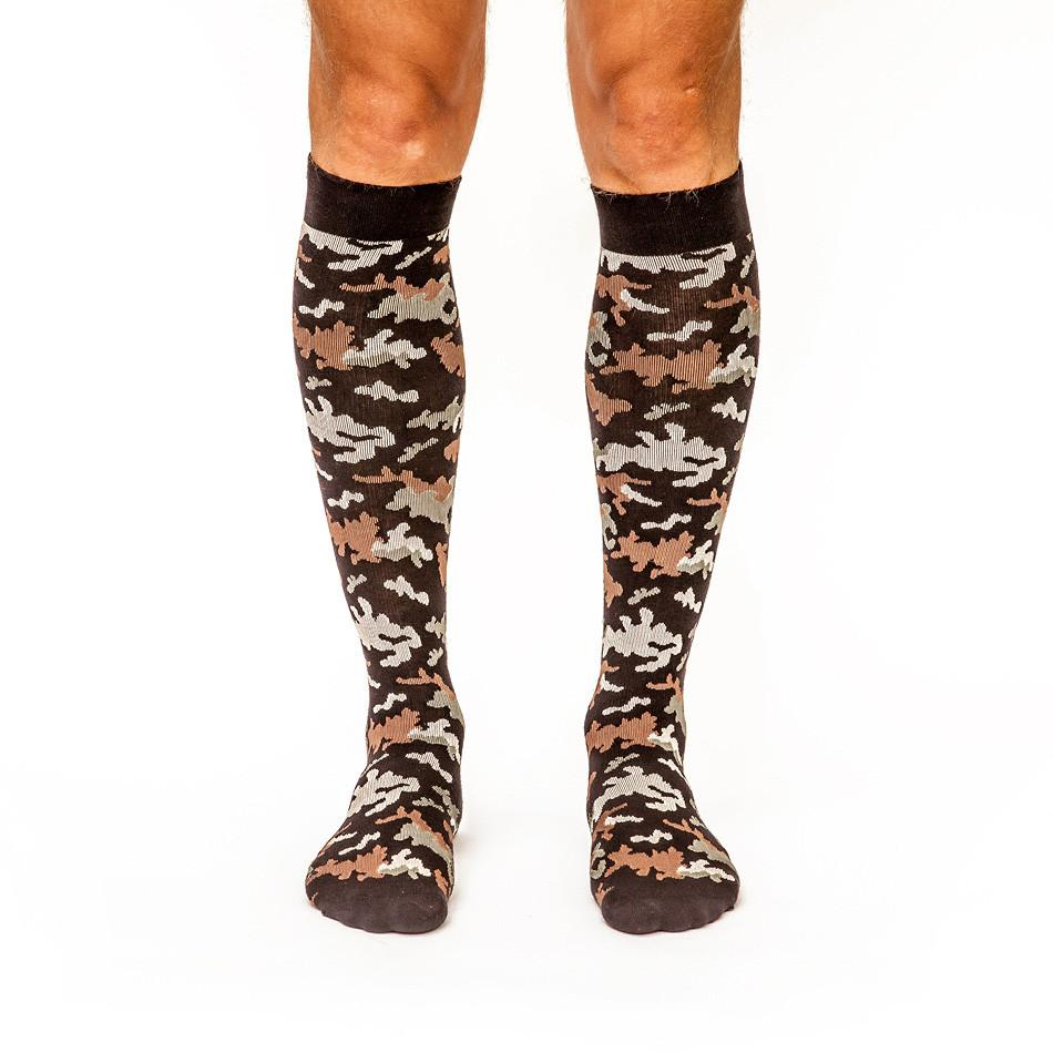 Can't Find Me Camo: Men's Knee-High Compression Socks - Yo Sox Canada