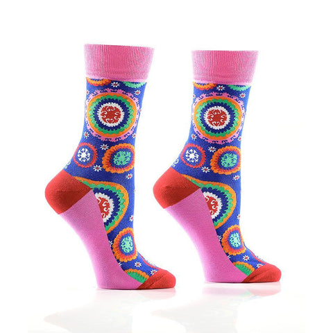 Quirky Colours: Women's Crew Socks - Yo Sox Canada