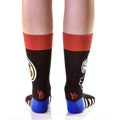Joke's On You: Women's Crew Socks - Yo Sox Canada