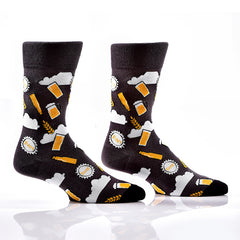 Pour Me a Pint: Men's Crew Socks - Yo Sox Canada