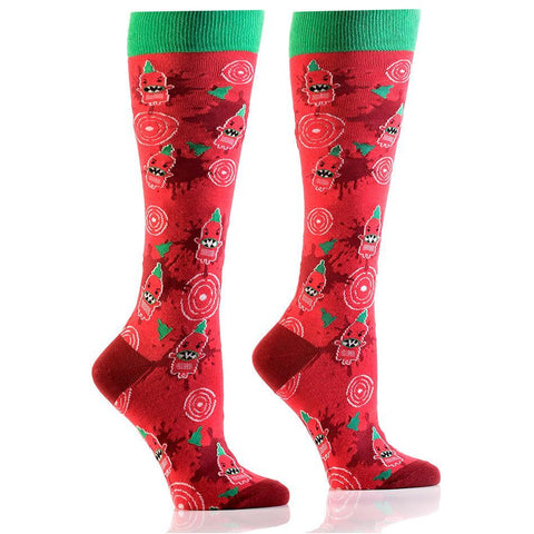 Coming In Hot: Women's Knee-High Socks - Yo Sox Canada