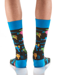 Super Soaker: Men's Crew Sock - Yo Sox Canada