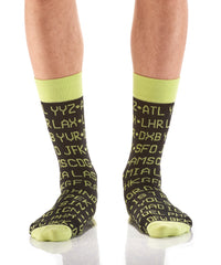 Data Hub: Men's Crew Socks - Yo Sox Canada