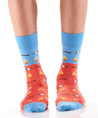 Roasty & Toasty: Men's Crew Socks