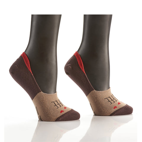 Thanks a Latte: Women's Crew Socks - Yo Sox Canada