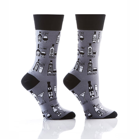 Boozy Brunch: Women's Crew Socks - Yo Sox Canada
