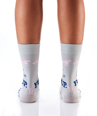 Word Play: Women's Crew Socks