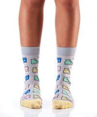 Cool as Chuck: Women's Crew Socks - Yo Sox Canada