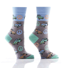 Love Bug: Women's Crew Socks - Yo Sox Canada