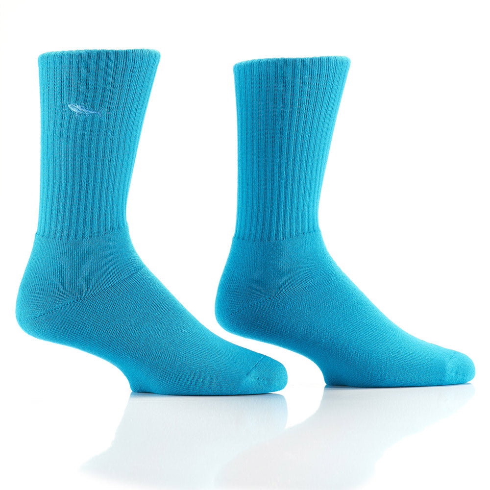 Shark Dive : Bamboo Athletic Socks - Yo Sox Canada