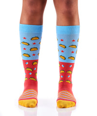 Let's Taco Bout It: Women's Knee-High Socks - Yo Sox Canada