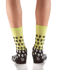 Mr. Bones: Men's Crew Socks - Yo Sox Canada