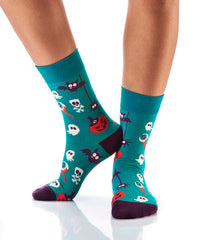 Creepy Crawlers: Women's Crew Socks - Yo Sox Canada