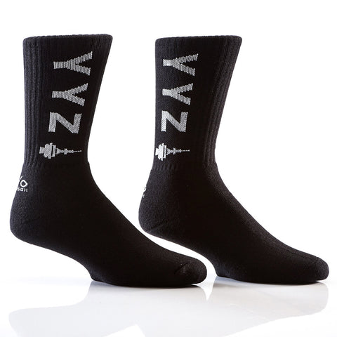 Welcome to YYZ : Bamboo Men's Athletic Socks