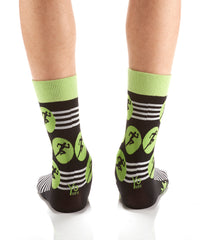 Sprint to the Finish: Men's Crew Socks - Yo Sox Canada