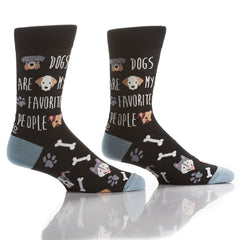 Puppy Love: Men's Crew Socks - Yo Sox Canada
