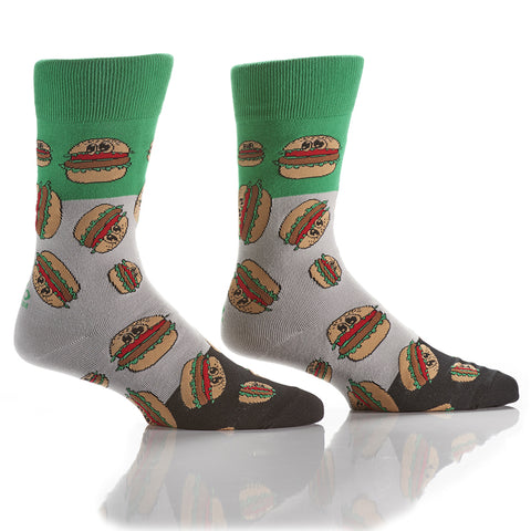 Grillin': Men's Crew Socks - Yo Sox Canada