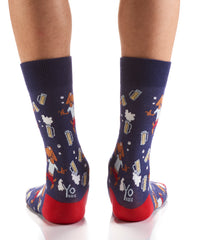 Hop to It: Men's Crew Socks - Yo Sox Canada