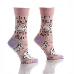 One of a Kind: Women's Crew Socks - Yo Sox Canada