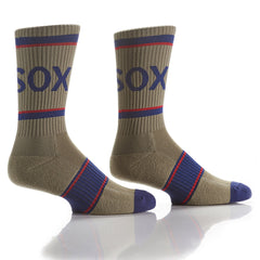 Green Athletic Crew Socks - Yo Sox Canada