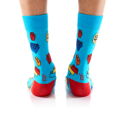 Brickbros: Men's Crew Socks - Yo Sox Canada