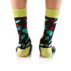 Anti-Veggie: Men's Crew Socks - Yo Sox Canada