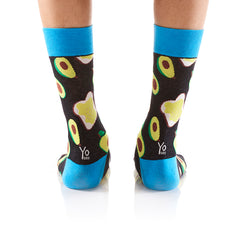 Avocado Toast: Men's Crew Socks - Yo Sox Canada