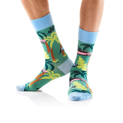 Cruisin': Men's Crew Socks - Yo Sox Canada