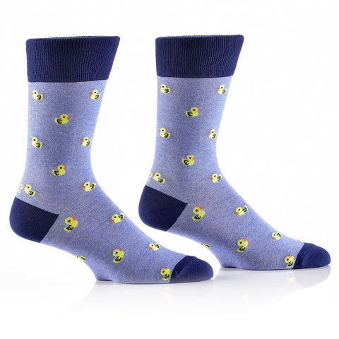 Rubber Ducky: Men's Crew Socks - Yo Sox Canada