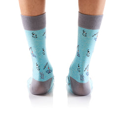 Take the Bait: Men's Crew Socks - Yo Sox Canada