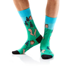 Squirrely: Men's Crew Socks - Yo Sox Canada