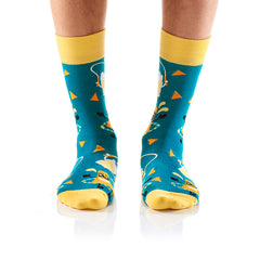 It's Nacho Beerness: Men's Crew Socks - Yo Sox Canada