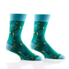 Bugg Off: Men's Crew Socks - Yo Sox Canada